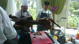lamb grill D' Saji