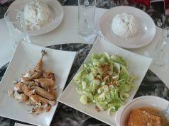 Food served